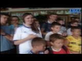21.08.14 - В.Калітвінцев vs С.Рибалка football freestyle - зустріч з дітьми з Донбасу