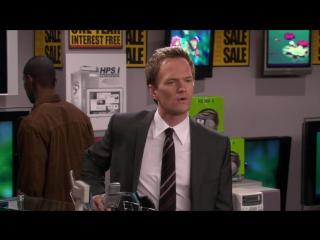 Барни и телевизор с кинескопом (HIMYM4x12) [Кураж-Бамбей]
