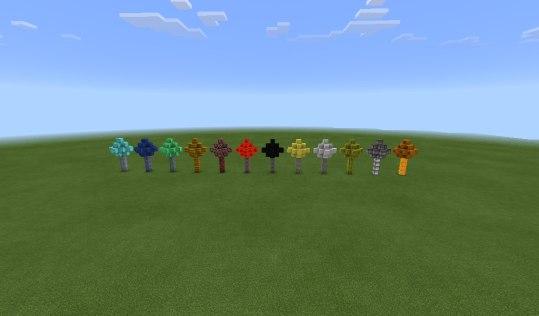 Мод MoTree для Minecraft PE 0.10.x