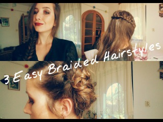 3 Easy and Pretty Braided Hairstyles • Jasminum