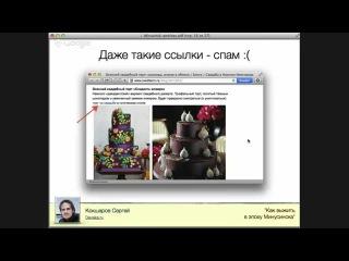 Как выжить в эпоху Минусинска (вебинар про новый алгоритм Яндекса Минусинск)