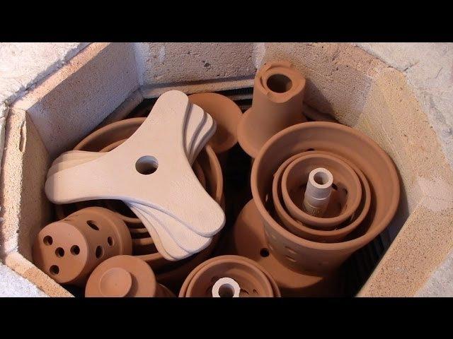 Загрузка изделий в печь