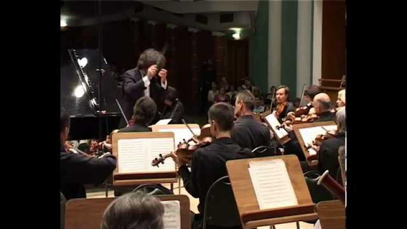 R. Schumann. (Р. Шуман) - Piano concerto in A Minor, op 54. Elisso Virsaladze/BelSCO/Bushkov