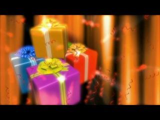Футажи - Новогодние подарки