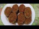 Котлеты из гречки с грибами вкусный рецепт в Пост