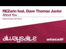 REZarin feat. Dave Thomas Junior - About You Andre Visior Remix Available 05.10.15