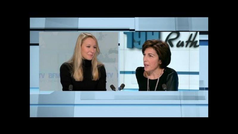 Marion Maréchal Le Pen l'invitée de Ruth Elkrief