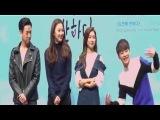 시우민-김소은 등 특급 팬서비스, 도전에 반하다 쇼케이스 현장