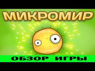 Микромир онлайн - обзор игры вконтакте (плотоядные вирусы)