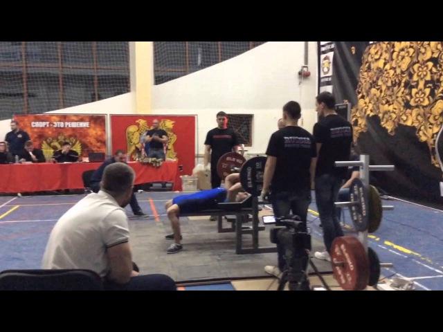 Анжела Кулагина, жим 120 кг, собственный вес 65,2 кг, Кубок России АСМ