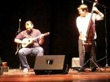 Gonzalo Teppa y Jorge Glem interpretan un tema de Telonius Monk