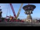 Irbenes radioteleskopa antenas RT-32 nocelšanas darbi