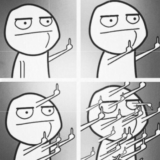Когда кто то навязывает тебе свое мнение.