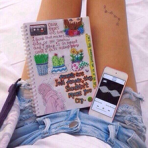 Как оформить личный дневник своими руками фото внутри