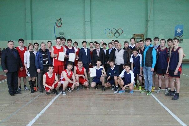 В Чистополе прошли зональные соревнования студентов по баскетболу