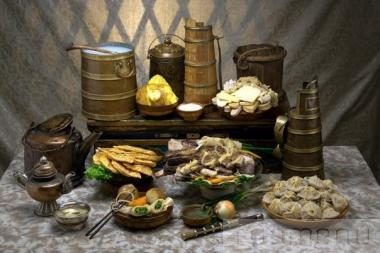 Бурятская кухня