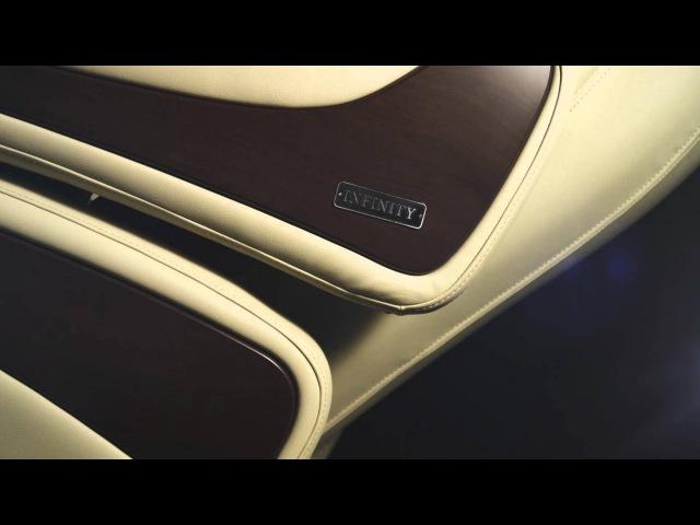 Массажное кресло US MEDICA Infinity - Интеллектуальная роскошь