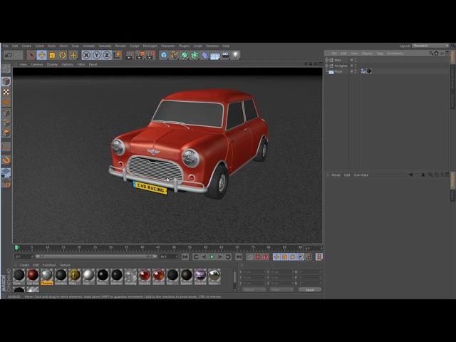 C4D XPresso car tutorial 2