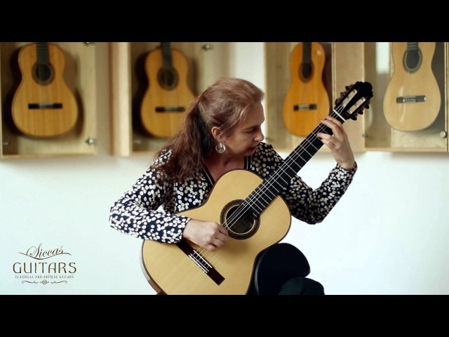 Nora Buschmann plays Baiao by Carlos Aguirre on a 2007 Philip Woodfield » Freewka.com - Смотреть онлайн в хорощем качестве