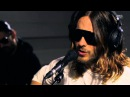 30 Seconds To Mars - Hurricane live at Radio Nova, HD