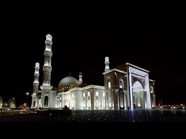 Әзірет Сұлтан мешітіндегі әуезді азан | Красивый азан в мечети Хазрет Султан