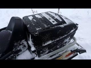 Тест-драйв снегохода brp  skandic wt 550f