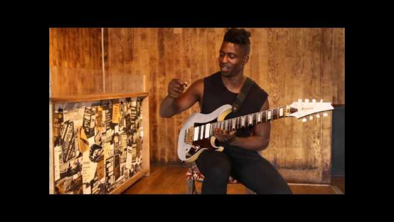 Guitar Lesson: Tosin Abasi - 'Swybrid' picking