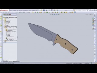Уроки SolidWorks. Сборка детали в SolidWorks