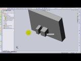 Уроки SolidWorks. Как изолировать твердое тело в SolidWorks