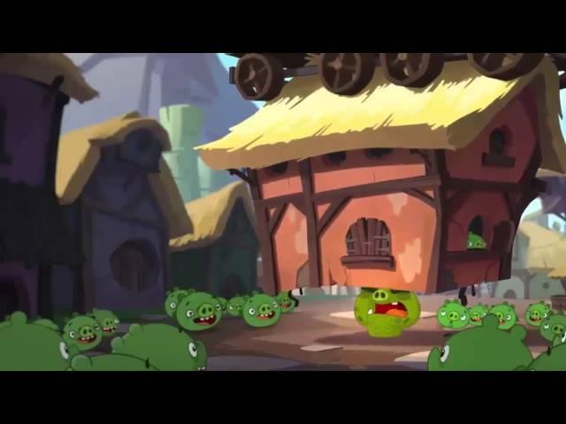 Angry birds Toons ЗЛЫЕ ПТИЧКИ мультфильм все серии 2 Сезон 1 Серия HD Охота за сокровищами