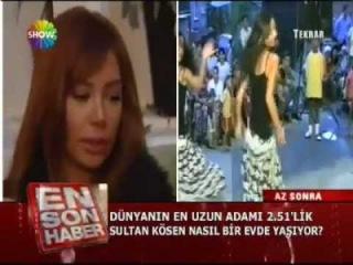 Didem Kinali talking & singing with various dance clips