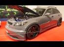 Infiniti FX 35 Tuning 500 PS at Essen Motorshow - Exterior Walkaround