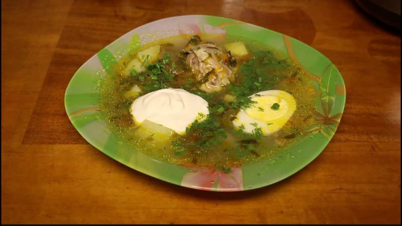 Щавелевый суп рецепт классический с пошагово с курицей