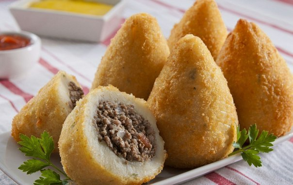 Пирожки Coxinha