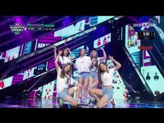 150917 Red Velvet - Dumb Dumb @ Mnet M! Countdown