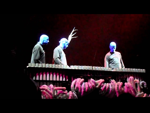 Blue Man Group Pipe Medley (with Crazy Train Lady Gaga)