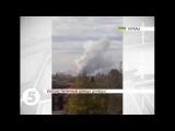 Потужний вибух в Донецьку
