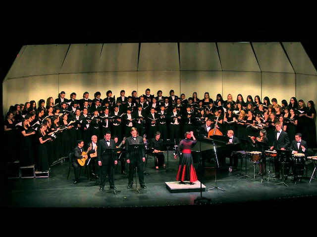 Misa Criolla, Ariel Ramirez--UCLA Choirs, conducted by Rebecca Lord
