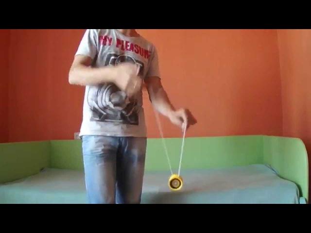 как делать трюк на yoyо(йойо) бинд.