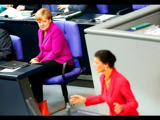 """Сара снова добралась до горла Меркель: """"Ты развязываешь войну с Россией!"""""""