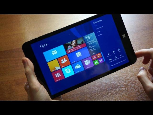Chuwi vi8 Dual Boot бюджетный планшет с Windows 8.1 и Android - распаковка и краткий обзор
