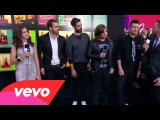 Bastille - Red Carpet Interview (2014 American Music Awards)