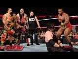 Demon Kane vs. Seth Rollins - Lumberjack Match Raw, October 12, 2015