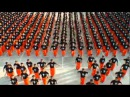 Prisons flash mob.Michel Jacksons songits realy nice