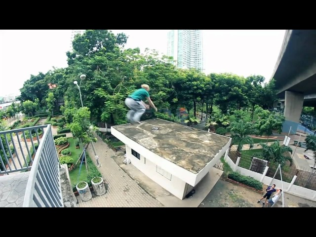 Team Farang - Thailand Parkour Tour 2010