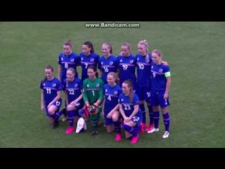 Womens: Macedonia - Iceland 0:4