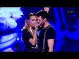 Άκης Παναγιωτίδης & Tamta - Purple Rain | The Voice of Greece - 5th Live Show (S02E17)