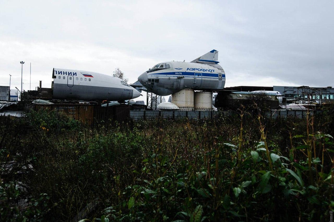 Музей авиационной техники, Верхние Муллы