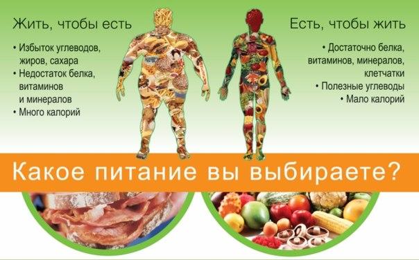 правильное питание при тренировках для похудения меню