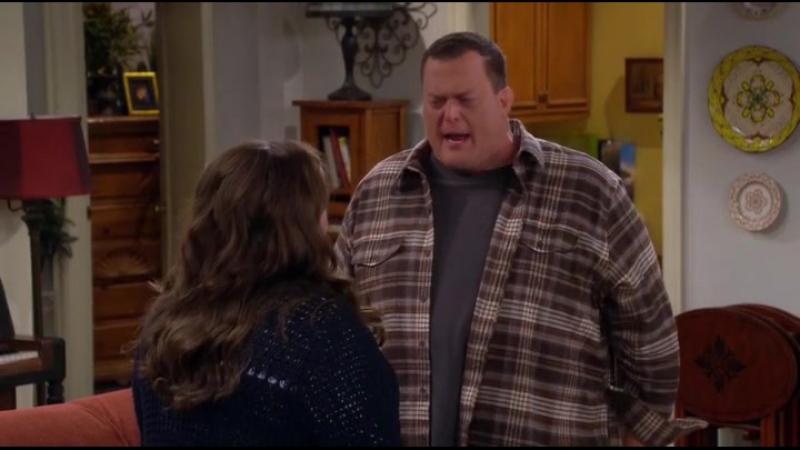 Mike and Molly s05e02 (эпизод Майк кричит на Молли)